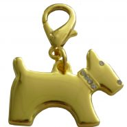 Gold Terrier Charm