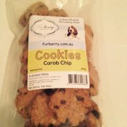 Oven Baked Carob Chip Cookies